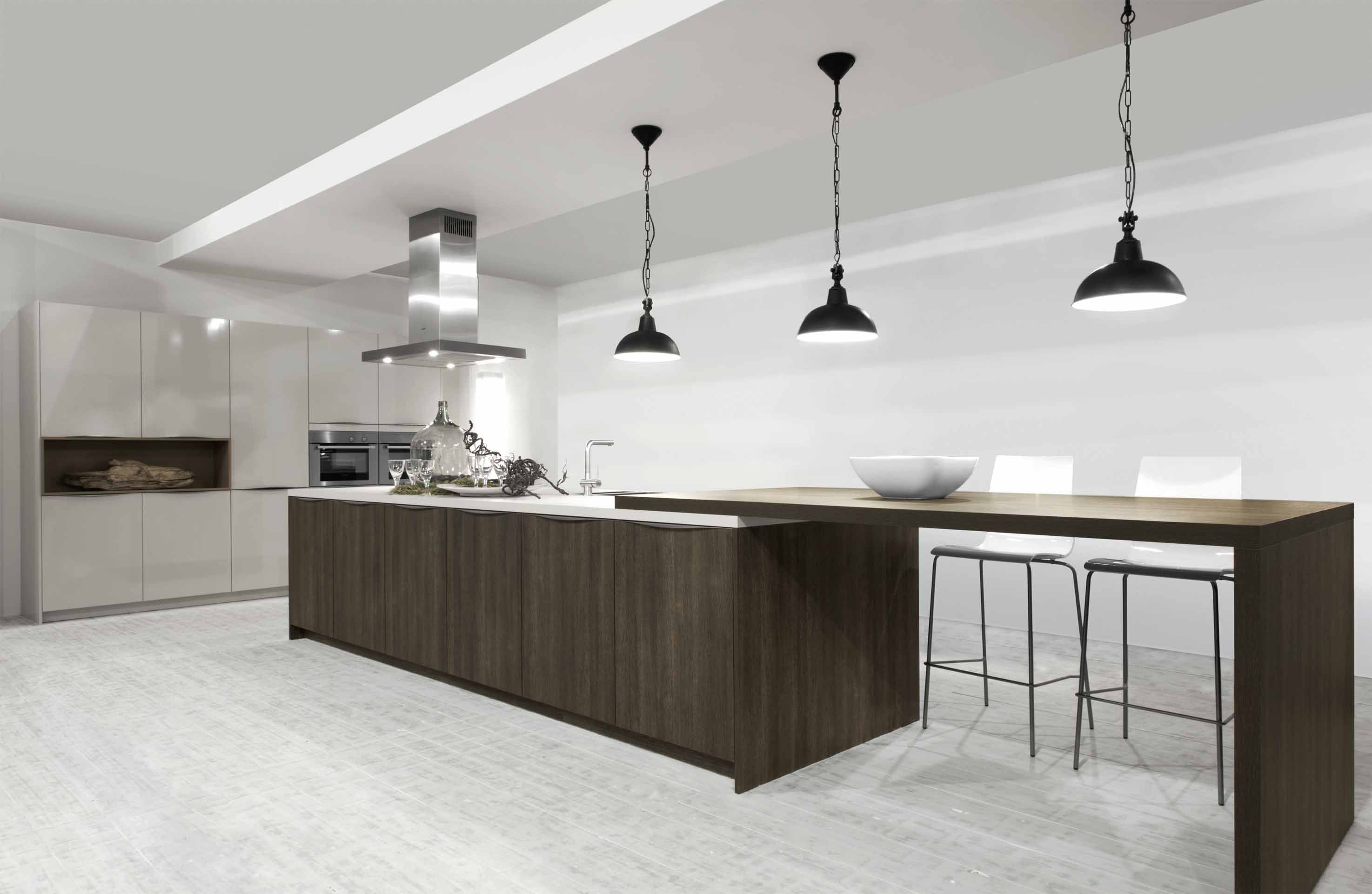 Afmetingen Keuken Met Eiland : woonwinkel.. Grote eilandkeuken met kastwand (4) [47126